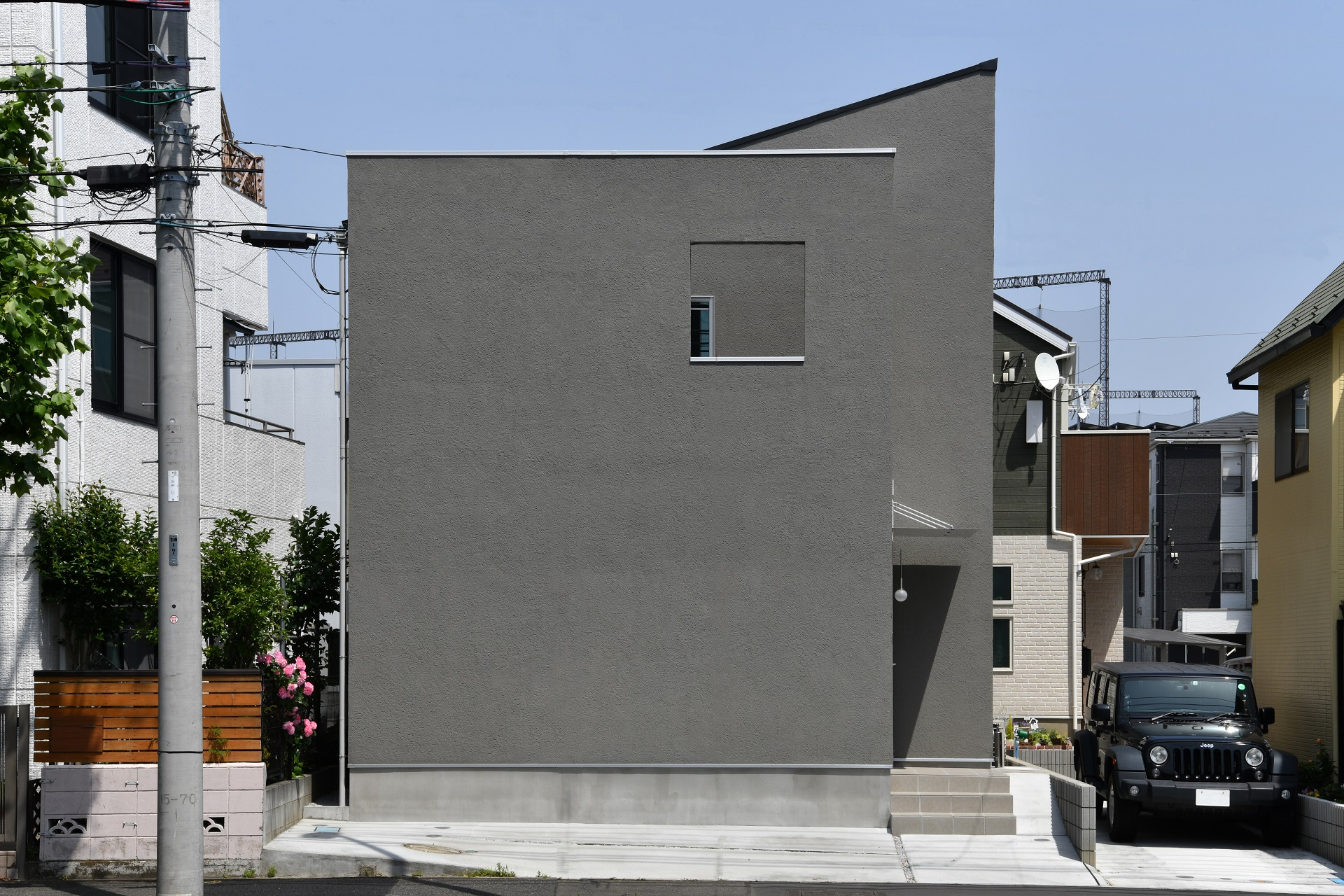 回想する家